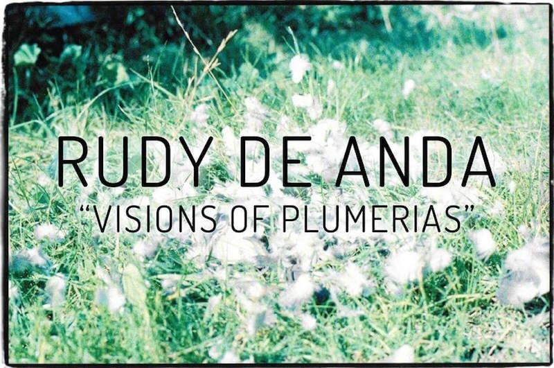 Rudy De Anda visions of plumerias