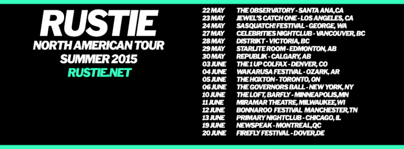 Rustie North American Tour Dates