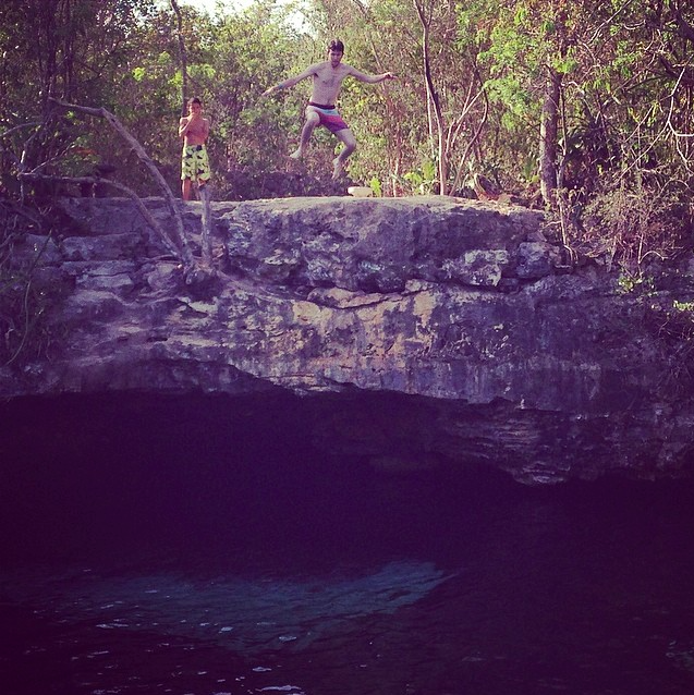 cenote azul best things to do in Tulum