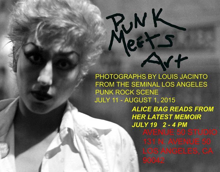 Alice Bag Punk Meets Art Flyer