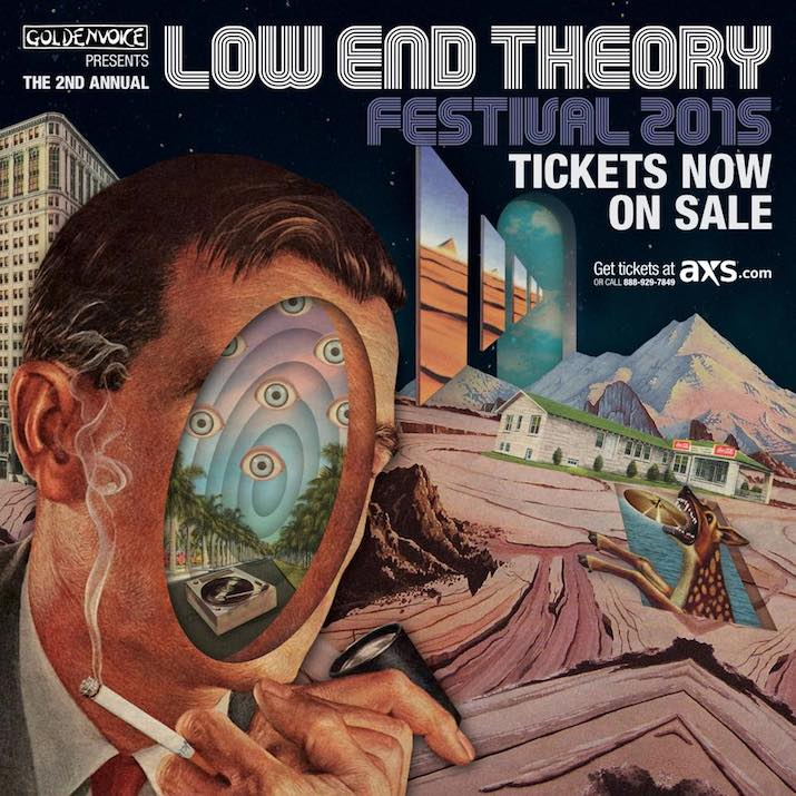 Low End Theory Festival Flyer