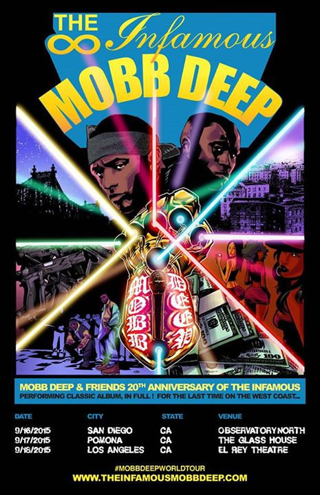 Mobb Deep The Infamous Flyer