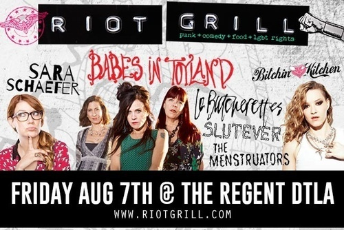 Riot Grill Flyer