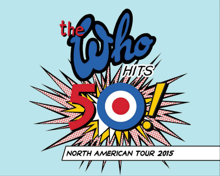 The Who Hits 50 Tour Poster