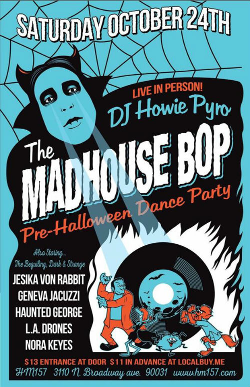 Madhouse Bop Flyer_Portrait