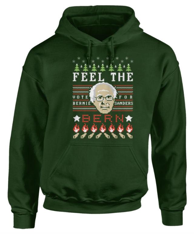 Feel the Bern Holiday Sweater