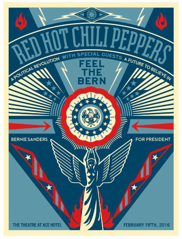 bernie chili peppers