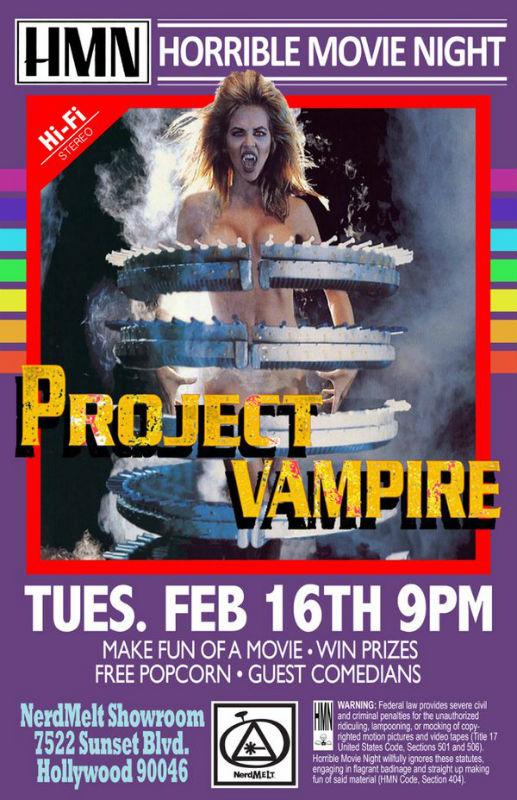 Horrible Movie Night Poster