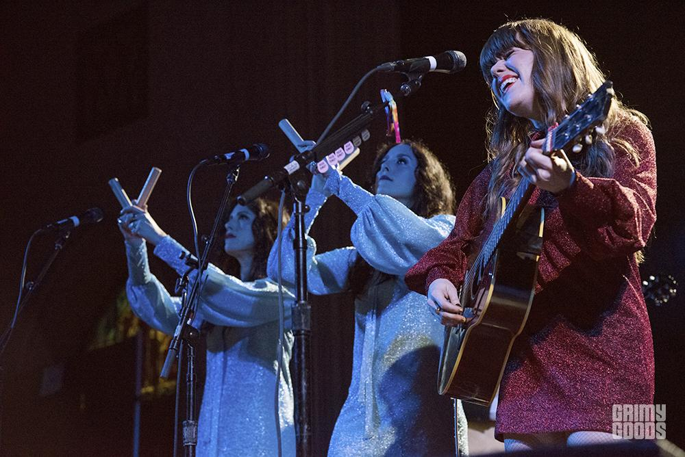 Jenny Lewis at The Cathedral Sanctuary shot by Danielle Gornbein