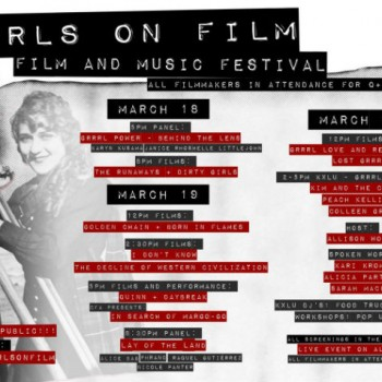Grrrls On Film Poster photo