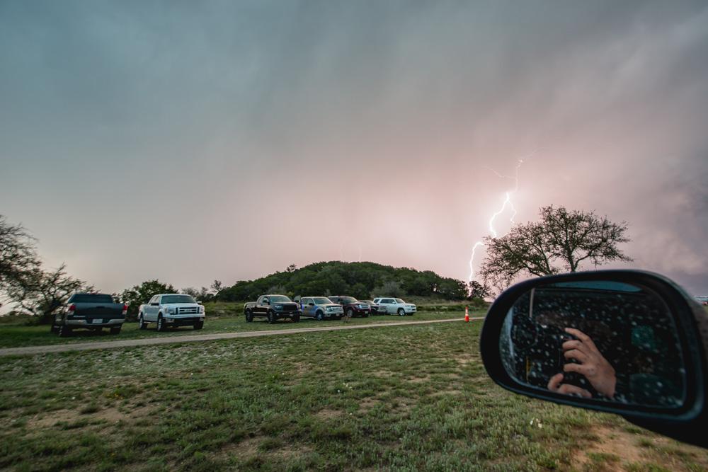 Lightning Strikes at SXSW (Friday) shot by Maggie Boyd