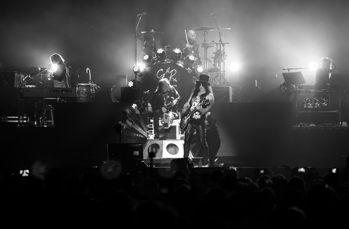 Guns N' Roses at Coachella phhotos