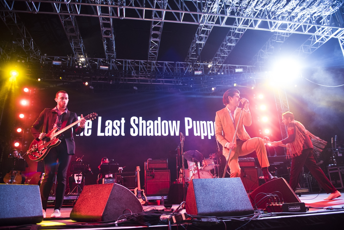 The Last Shadow Puppets at Coachella 2016