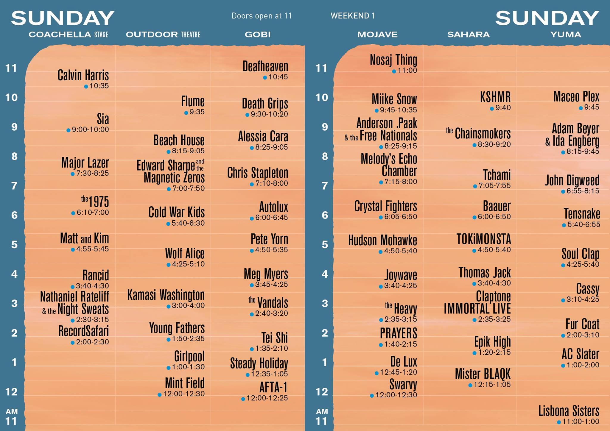 Sunday-Coachella-Set-Times
