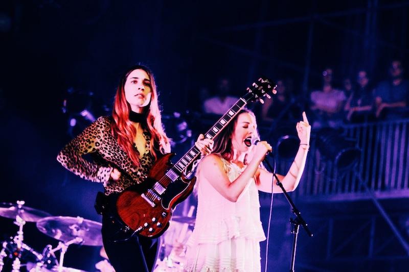 Danielle and Alana Haim