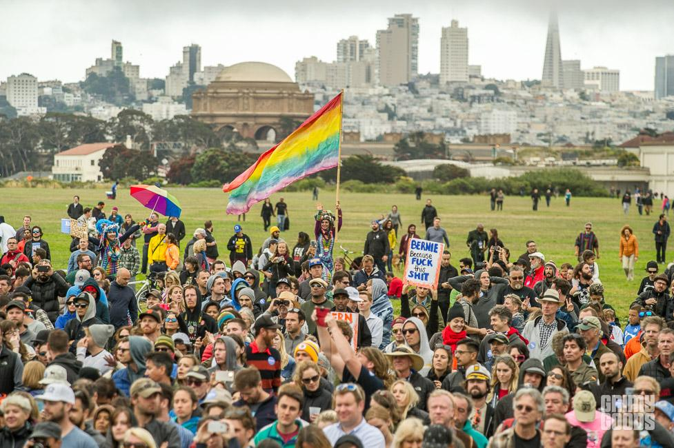 Bernie Sanders Rally in San Francisco, June 6, 2016