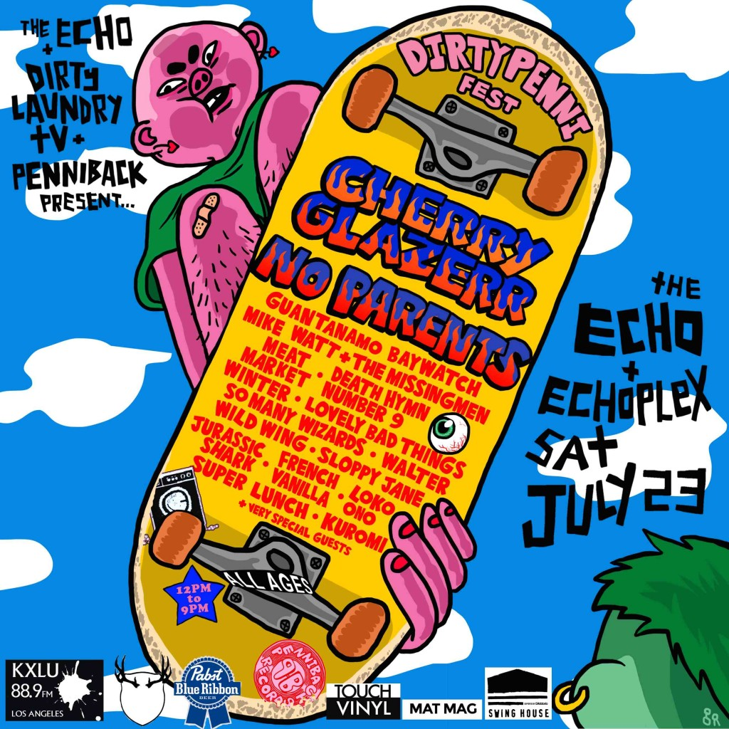 Dirty Penni Fest Flyer