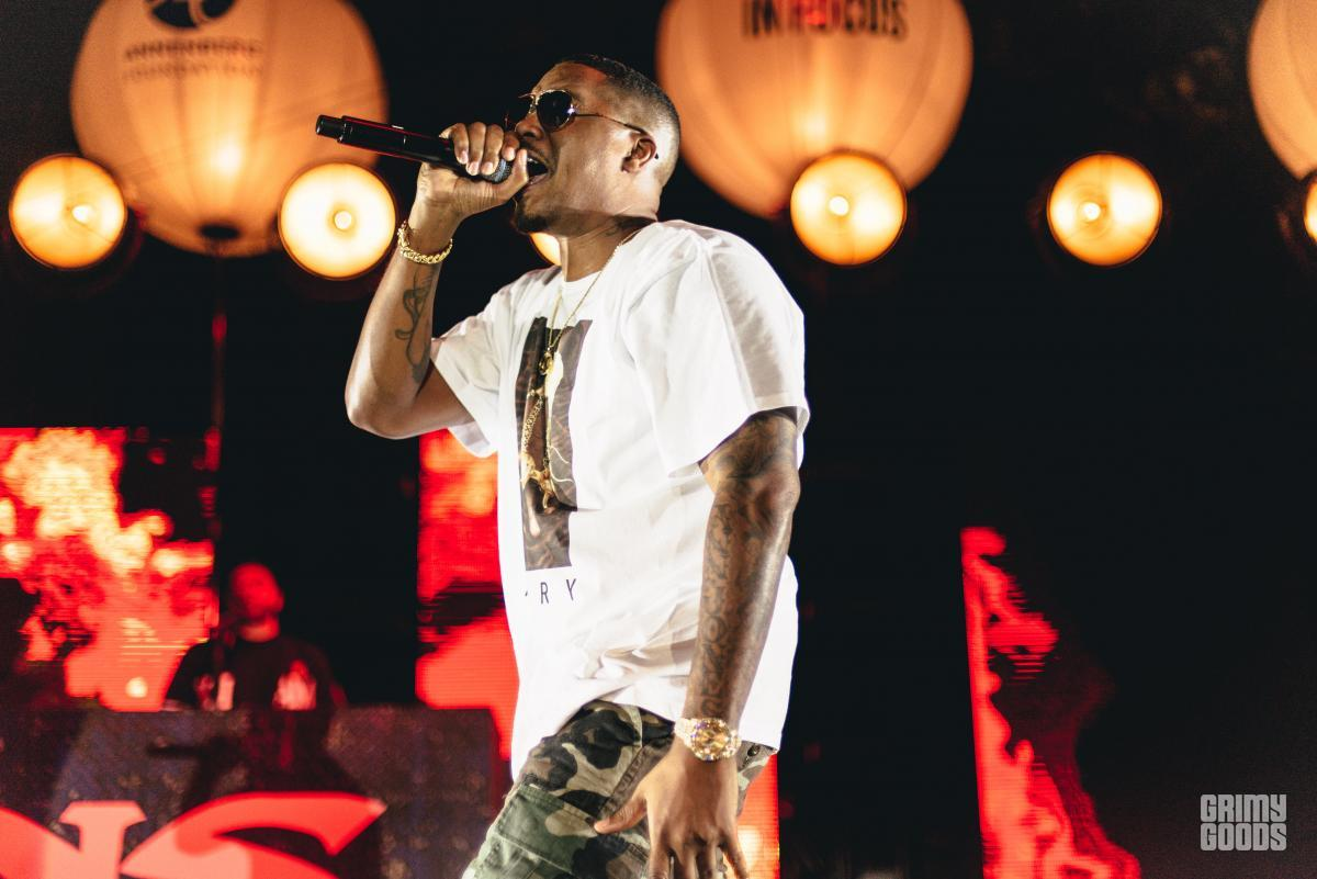 Nas at KCRW's Sound In Focus at Annenberg Space