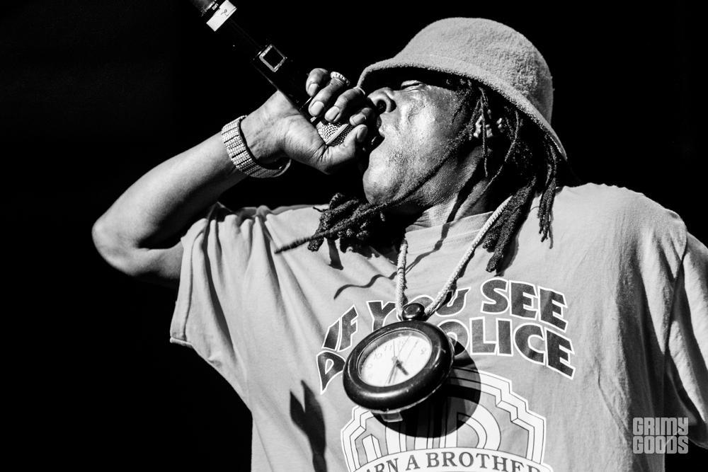 Public Enemy at The Art of Rap Festival at Hollywood Palladium