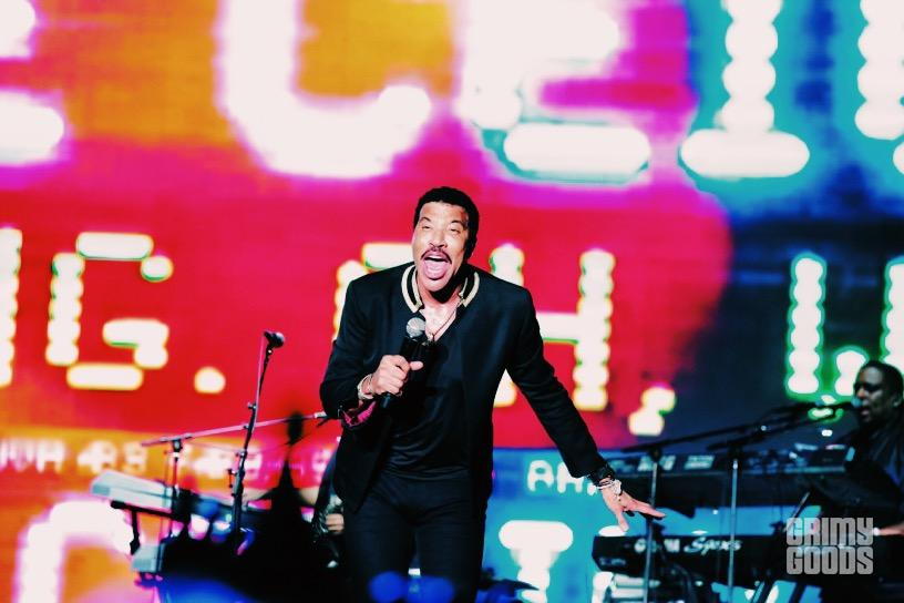 Lionel Richie at Outside Lands Music Festival -- Photo by Steven Ward