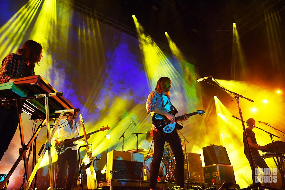 Tame Impala at FYF 2016 in Exposition Park, Los Angeles