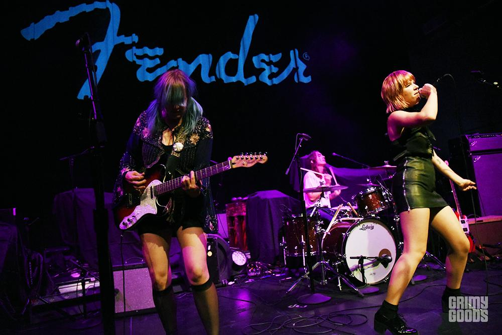 Bleached at Fender Hollywood Opening