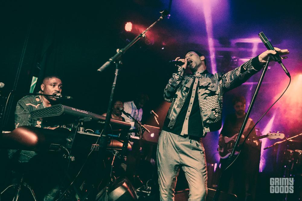 Jamie Lidell and the Royal Pharoahs at The Echo