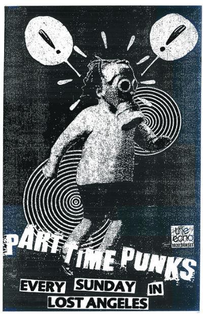 Part Time Punks flyer photo