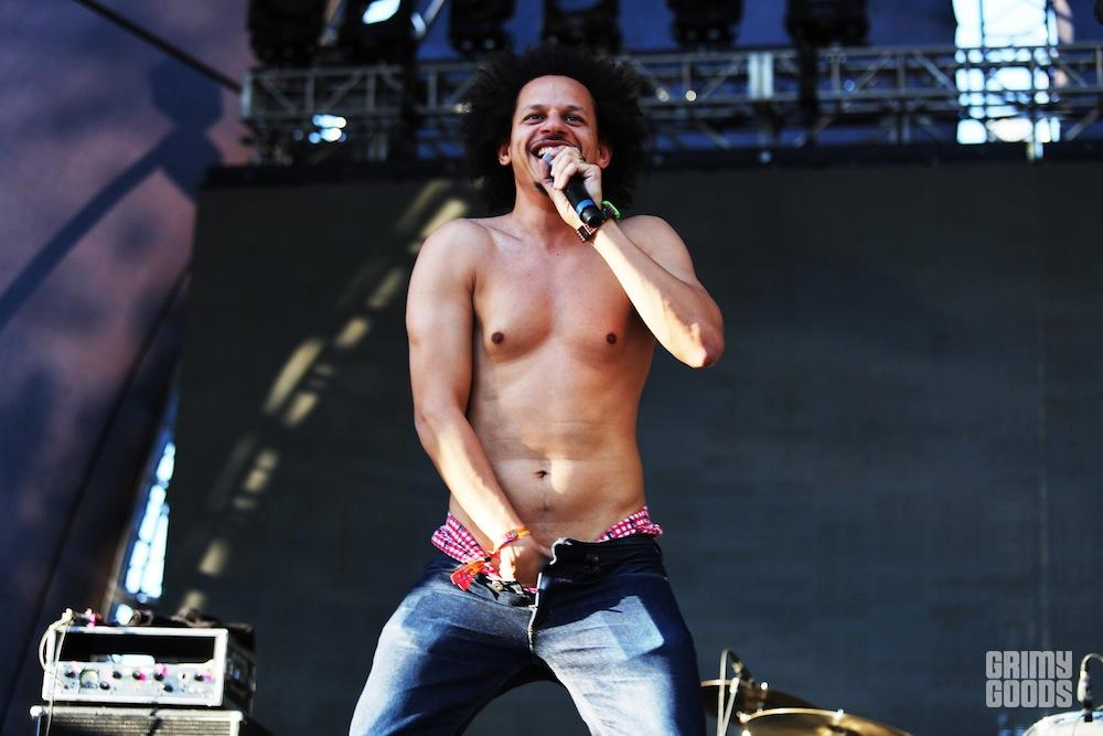 Eric Andre at Beach Goth 2016