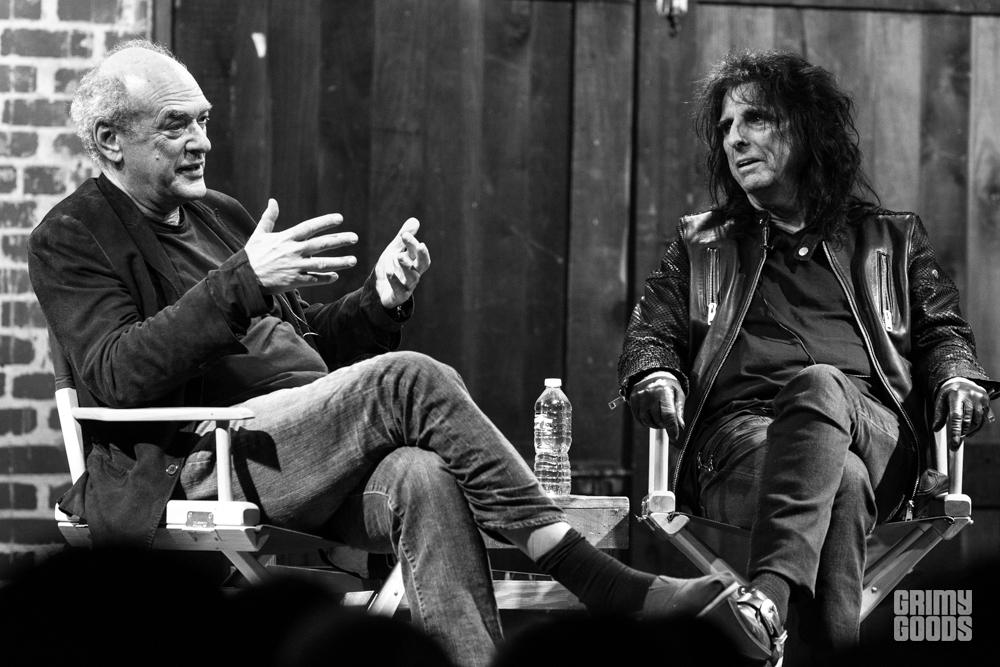 Alice Cooper with Shep Gordon at Bootleg Theater