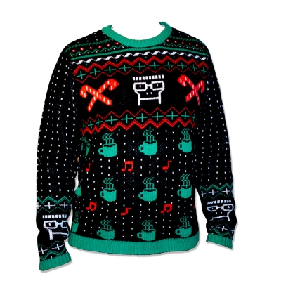 descendents ugly christmas sweater