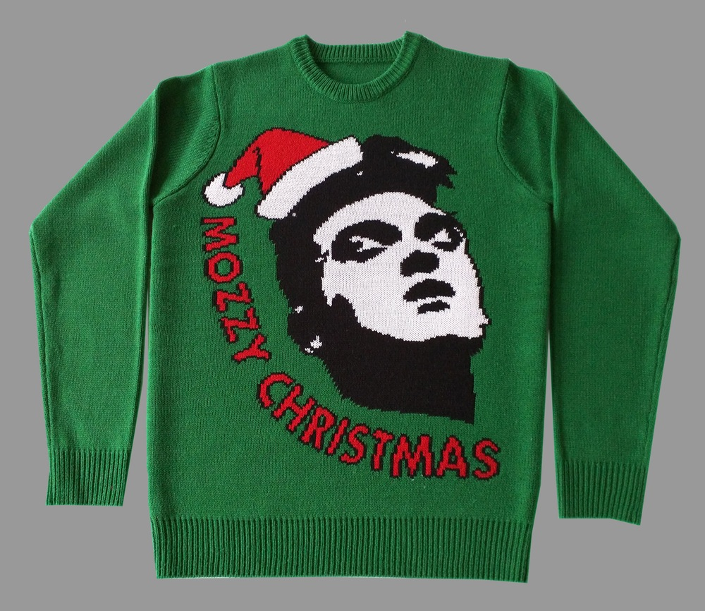 Morrissey ugly christmas sweater