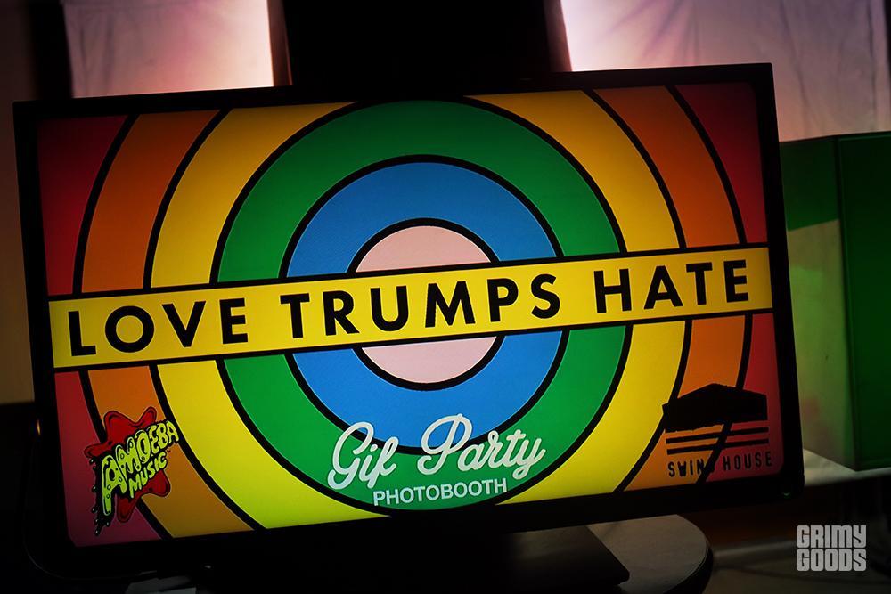 Love Trumps Hate benefit
