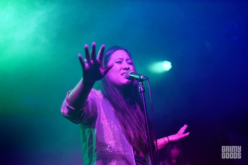 Olivia Braga at The Echo