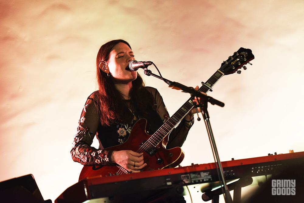 The Staves at the Masonic Lodge at Hollywood Forever shot by Danielle Gornbein