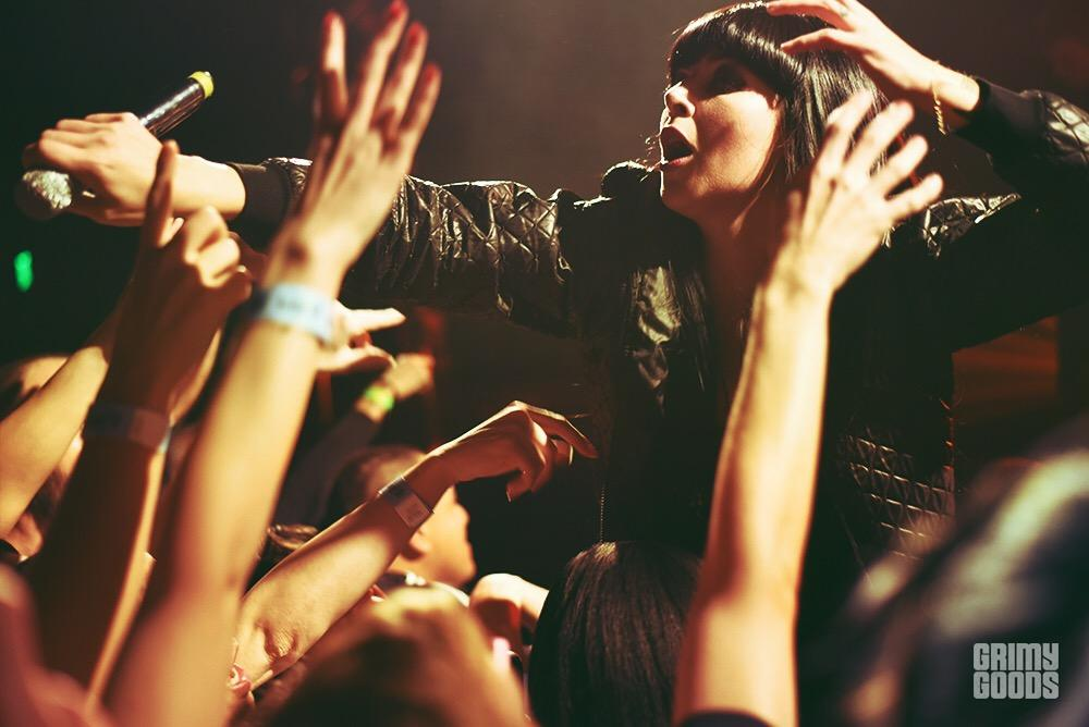Sleigh Bells at the El Rey shot by Danielle Gornbein