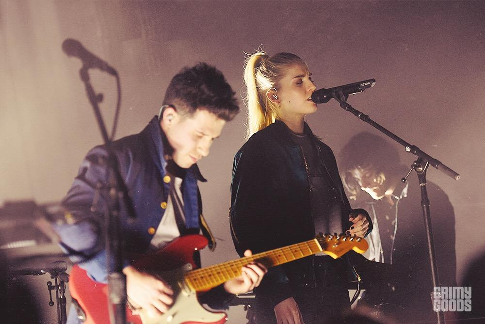 London Grammar at the Masonic Lodge at Hollywood Forever shot by Danielle Gornbein