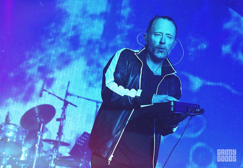 Radiohead at the Santa Barbara Bowl shot by Danielle Gornbein