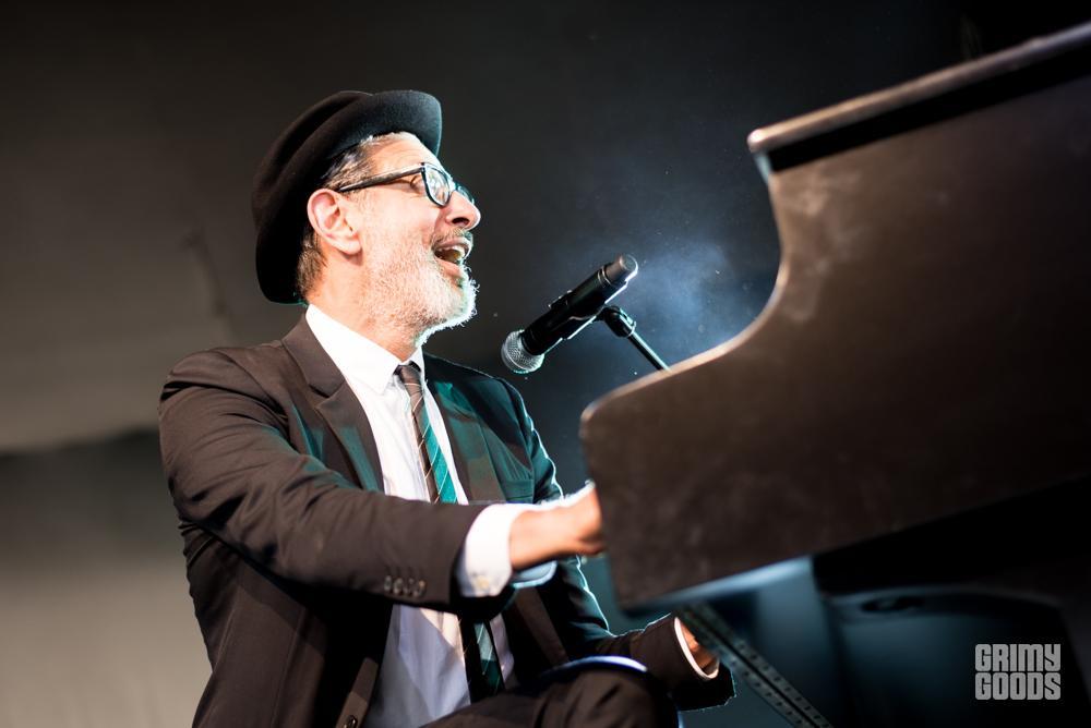 Jeff Goldblum at Arroyo Seco Festival shot by Danielle Gornbein