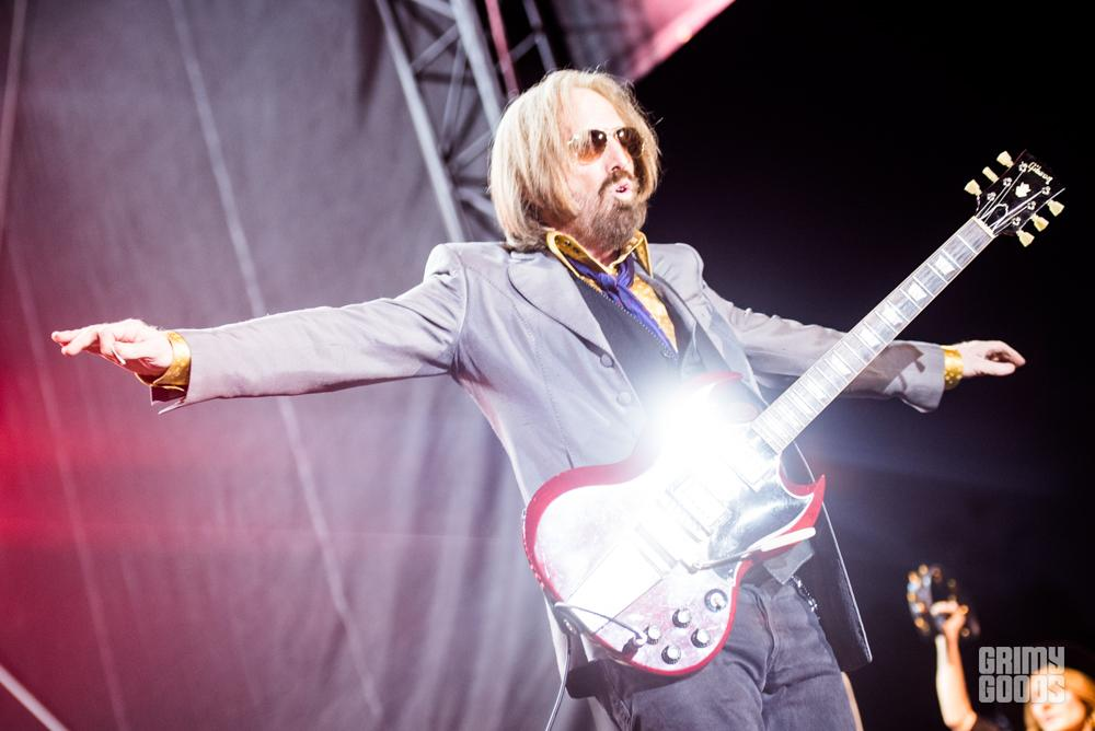 Tom Petty at Arroyo Seco Festival shot by Danielle Gornbein
