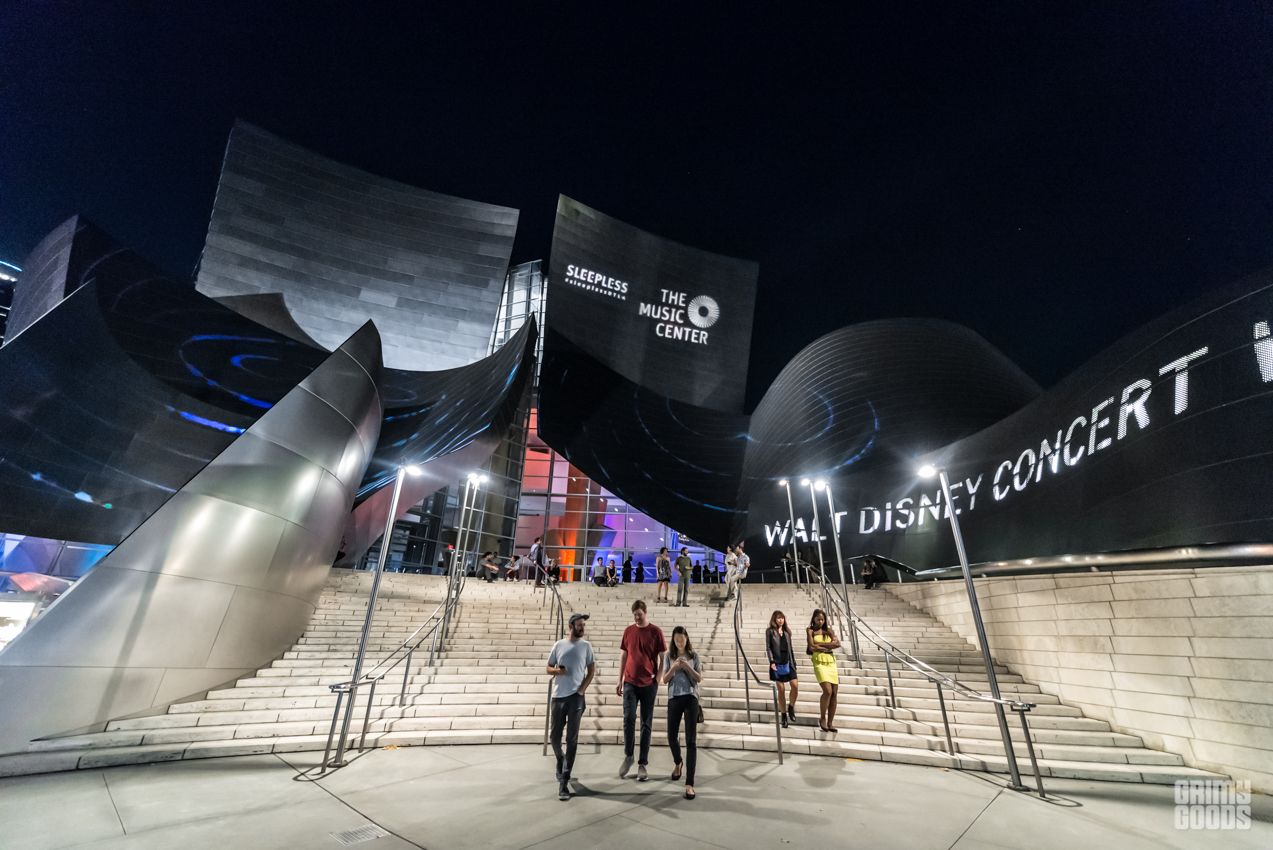 Sleepless at Walt Disney Concert Hall
