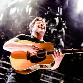 Mumford & Sons at Arroyo Seco Festival shot by Danielle Gornbein