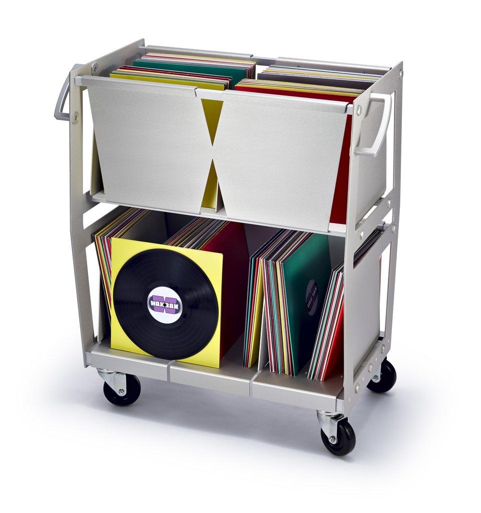 Wax Rax Vinyl record storage cart