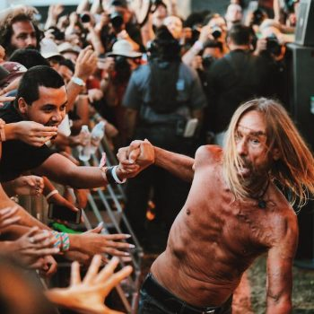 Iggy Pop at FYF 2017 by Steven Ward