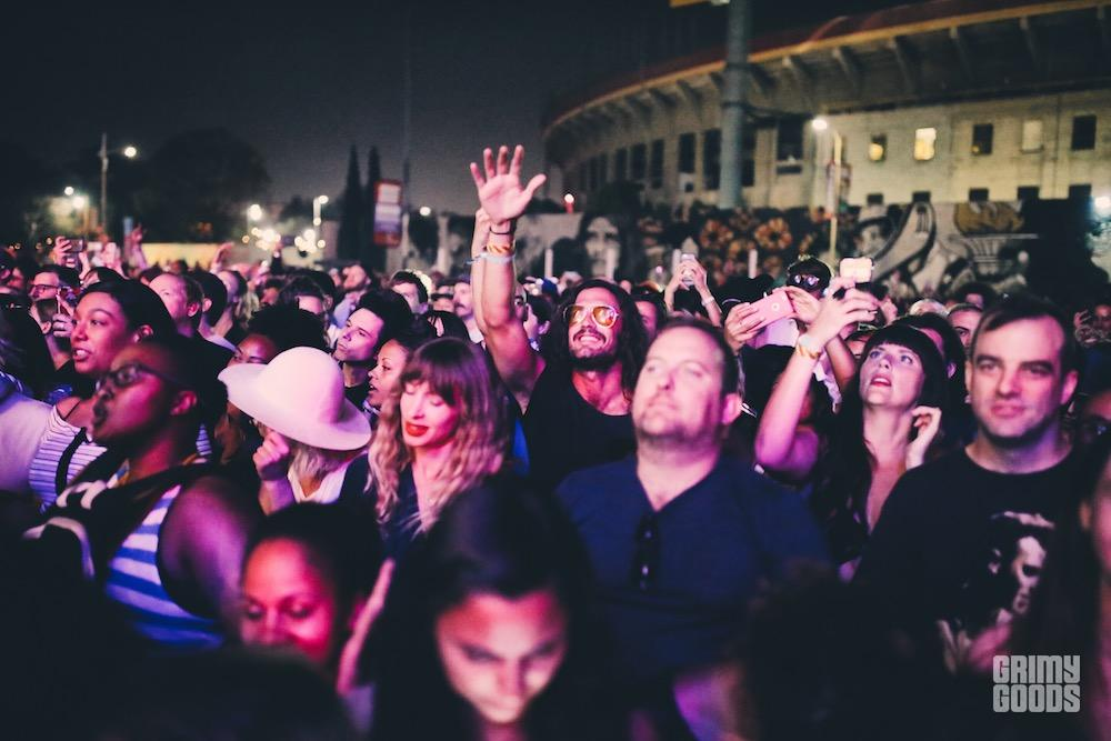 fyf fest 2017 fan crowd photos