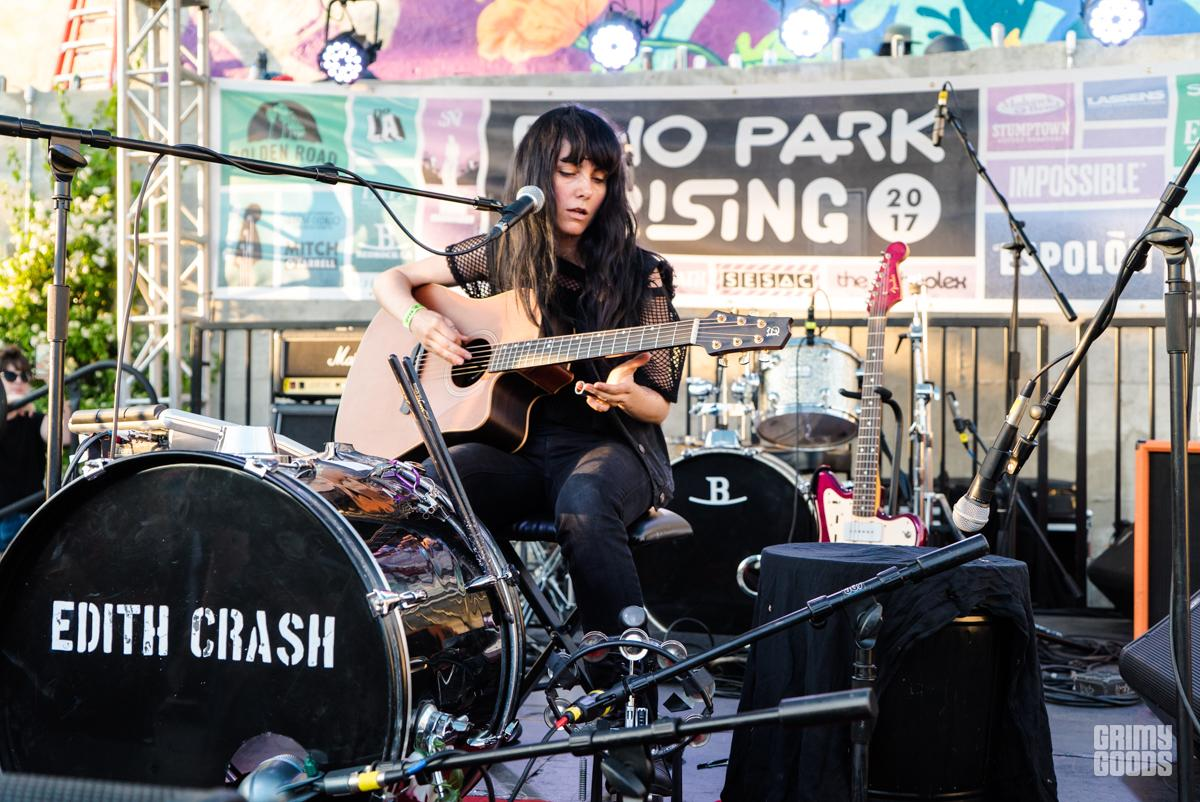 Edith Crash at Echo Park Rising — More Photos by ZB Images