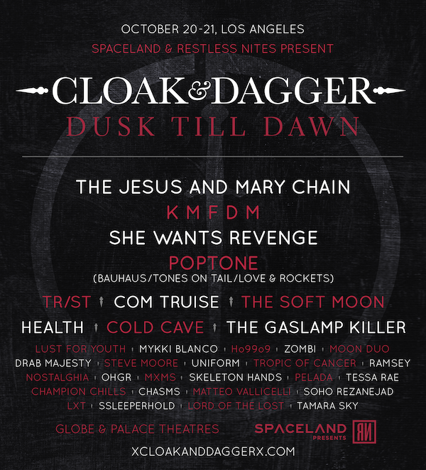 cloak & dagger festival