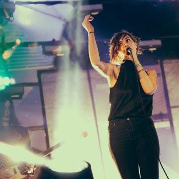 Warpaint at Twilight Concerts at Santa Monica Pier -- Photo: Andrew Gomez
