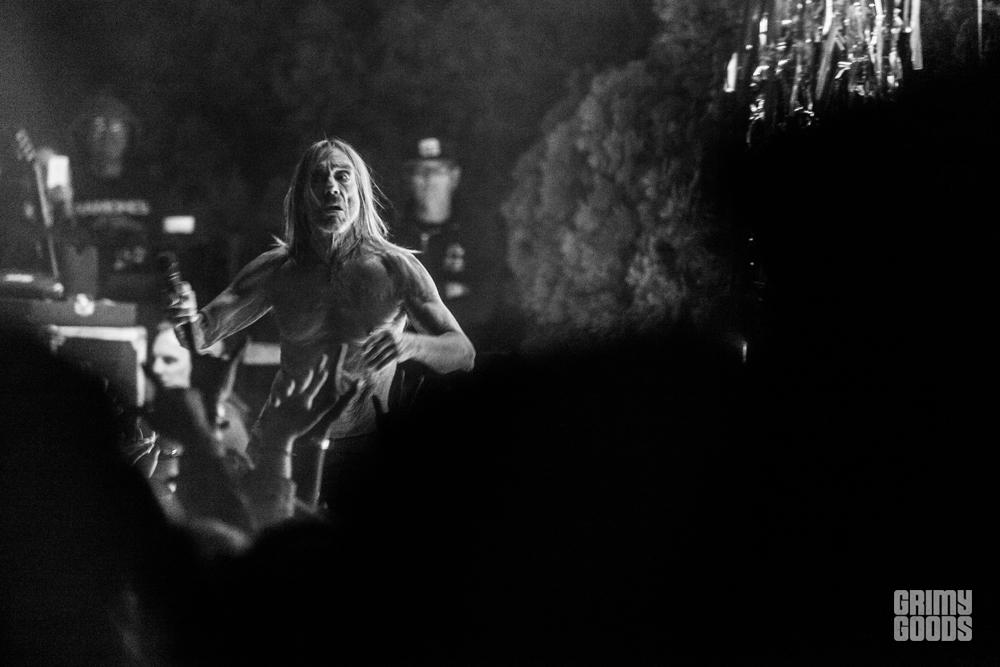 Iggy Pop, Desert Daze 2017, Photo by Wes Marsala