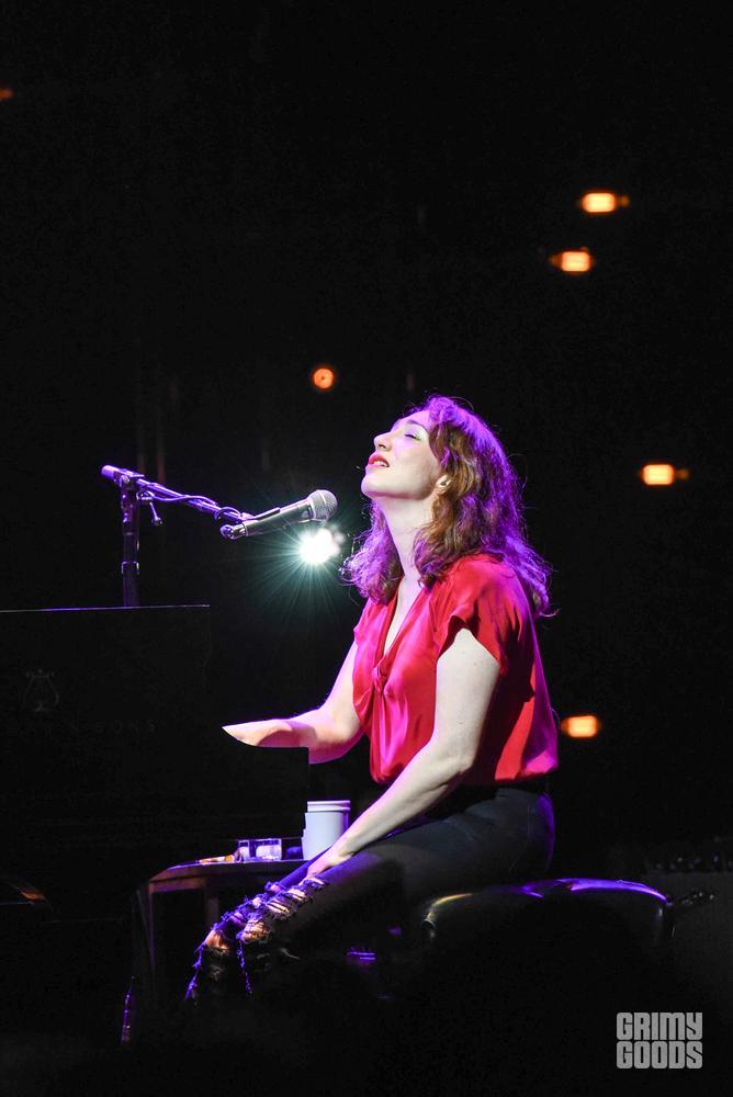 Regina Spektor at the House Of Blues Anaheim shot by Danielle Gornbein